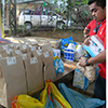 Sales Rain donated much needed items such as adult diapers, rice, milk, oatmeal, noodles and crackers to the center.