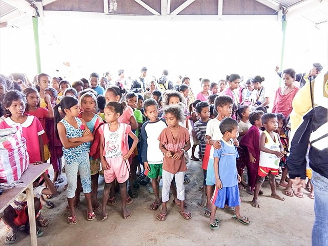 Feeding Program for the indigenous children