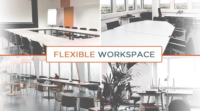 Kết quả hình ảnh cho flexible workspaces