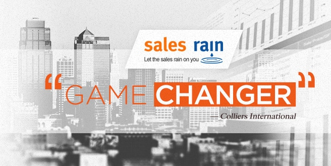 "Sales Rain: Tagged as ""Game Changer"" in Colliers' 2017 Report"