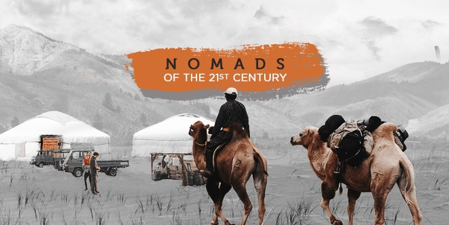 Digital Nomads of the 21st Century
