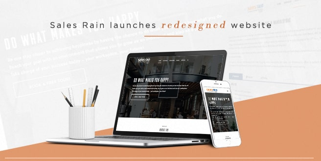 Salesrain Launches Redesigned Website for 2017