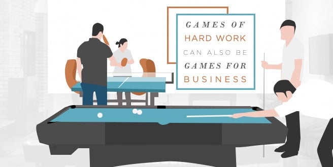 Games Of Hard Work Can Also Be Games For Business