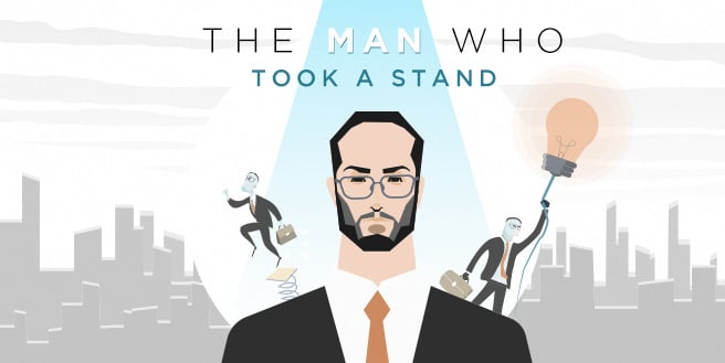 The Man Who Took A Stand, Avoiding Prolonged Sitting