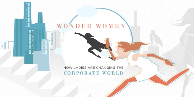 Wonder Women: How Ladies Are Changing the Corporate World