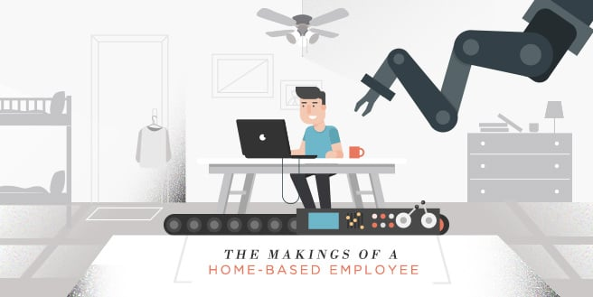 The Makings of a Home-Based Employee