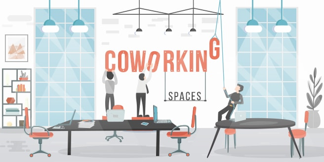 Coworking Spaces: A Playground for The Big Players