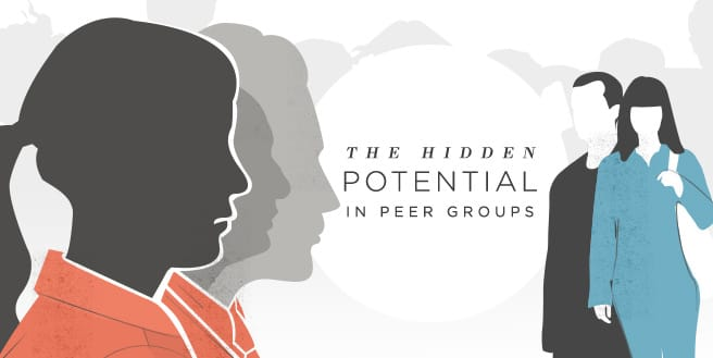 The Hidden Potential in Peer Groups and Interconnectedness