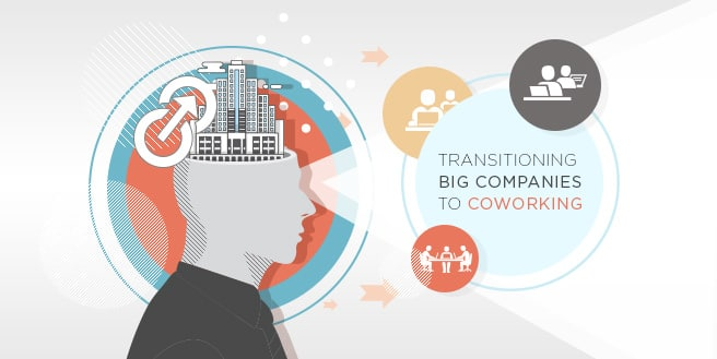 How to Effectively Transition Big Companies to Coworking