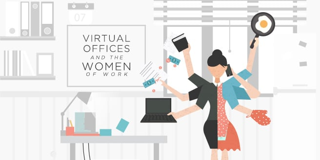Virtual Offices and the Women of Work