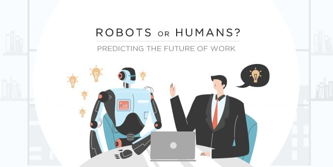 Robots or Humans? Predicting the Strategical Future of Work