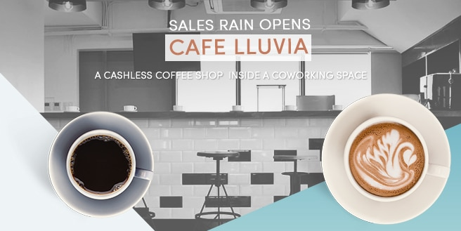 Sales Rain Opens Cafe Lluvia, A Coffee Shop Inside a Coworking Space