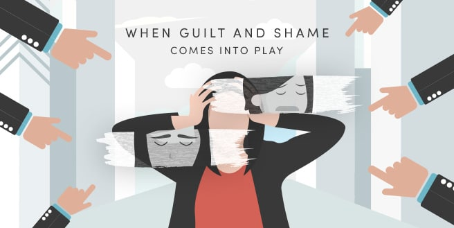 When Guilt and Shame Comes into Play: Feeling Unproductive