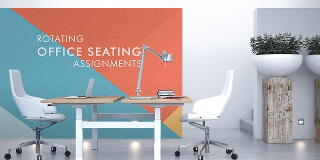 The Benefits of Rotating Office Seating Assignments