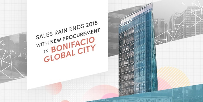 Sales Rain Ends 2018 with New Procurement in Bonifacio Global City