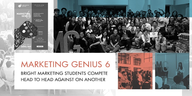 Marketing Students Compete Head to Head in Marketing Genius 6