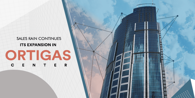 Sales Rain Continues Its Office Expansion in Ortigas Center
