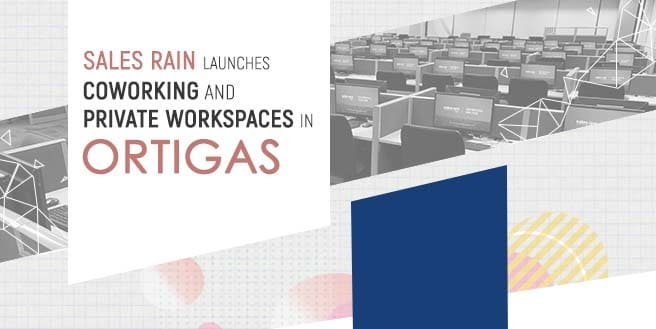 Sales Rain Launches Coworking and Private Workspaces in Ortigas
