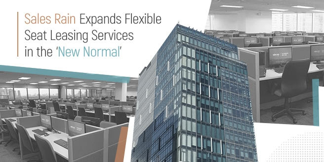 Sales Rain Expands Flexible Seat Leasing Services in the 'New Normal'